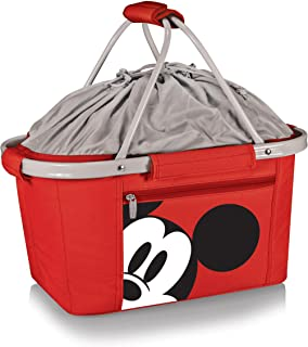 Disney Classics Mickey Mouse Metro Basket Collapsible Cooler, Red