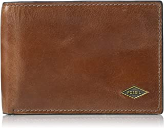 Fossil Men's Ryan Leather Front Pocket Bifold Wallet