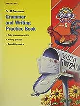 Reading Street, Grade 5: Grammar and Writing Practice Workbook