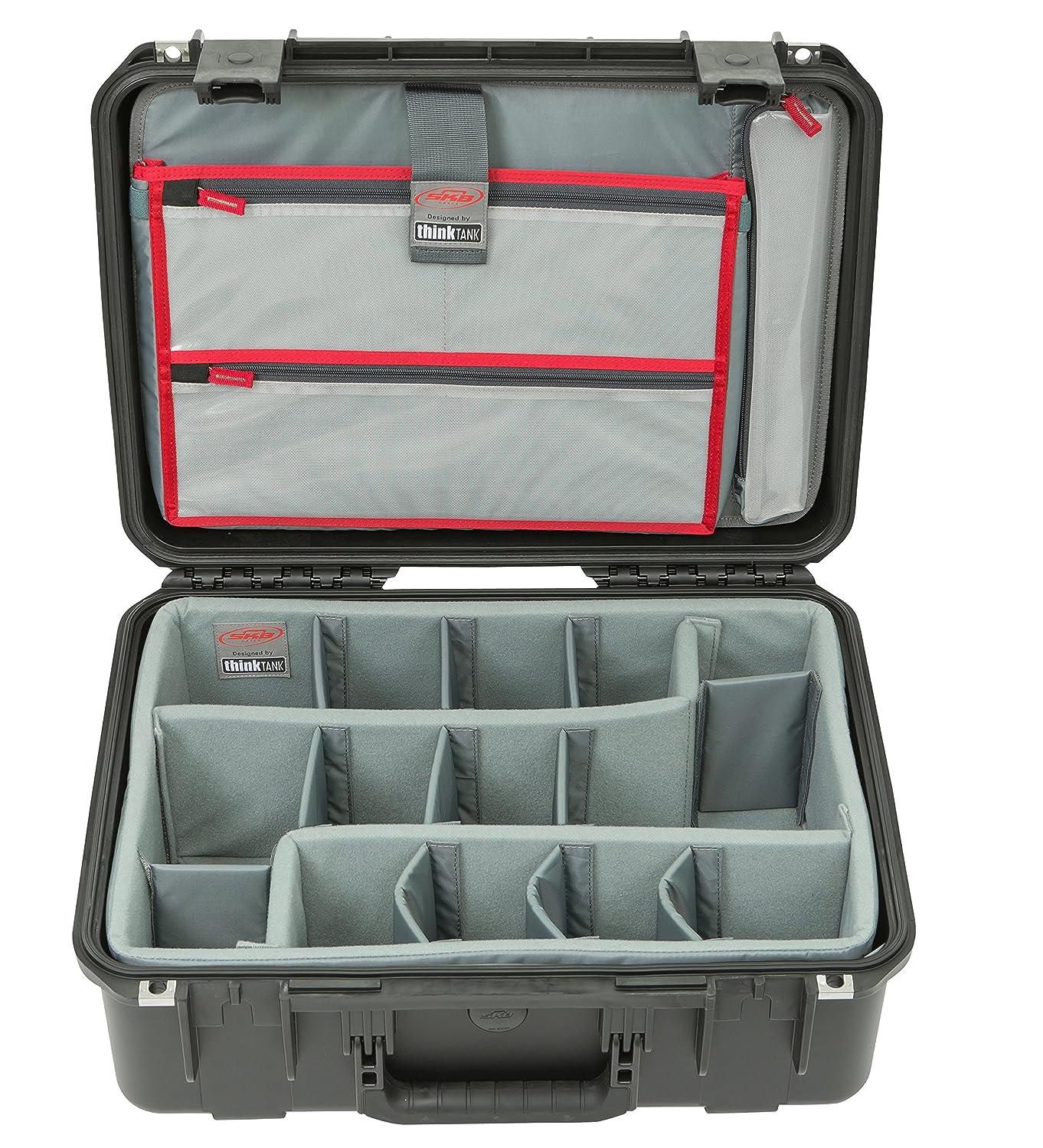 SKB Cases 3i-1813-7DL iSeries Professional Camera Case, Black/Gray