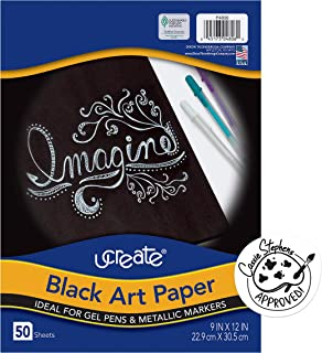 Pacon Basic Black Drawing Paper (4806)