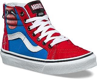 Vans Kids X Marvel SK8-Hi Zip Skate Shoe