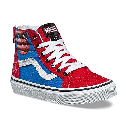 Vans Sk8-Hi Zip (Spider-Man)