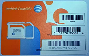 at&t sim cards for unlocked phones