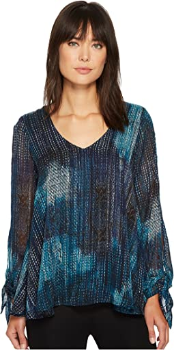 Karen Kane - Split Tie Sleeve Top