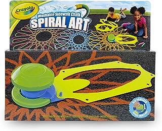 Crayola Spiral Art Outdoor Chalk Kit