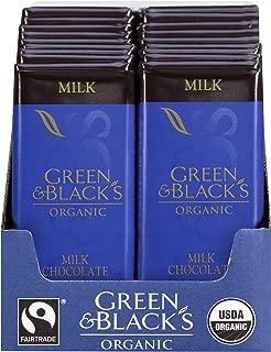 Green & Black's Organic Milk Chocolate (20 total bars) Bars