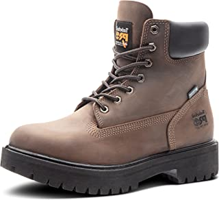 """Timberland PRO 65016 Mens Direct Attach 6"""" Steel Toe Boot (Wheat, 12 M US)"""