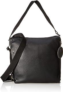 Mellow Leather Tracolla/Nero, bolso bandolera para Mujer, 0.01x0.01x0.01 centimeters (W x H x L)