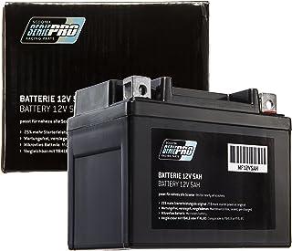 Batería Serie Pro 12V 5Ah (SLA4L-BS), batería de motocicleta (sellada/no requiere mantenimiento) 112x68x89mm