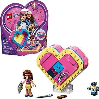 LEGO Friends Olivia's Heart Box 41357 Building Kit , New 2019 (85 Piece)