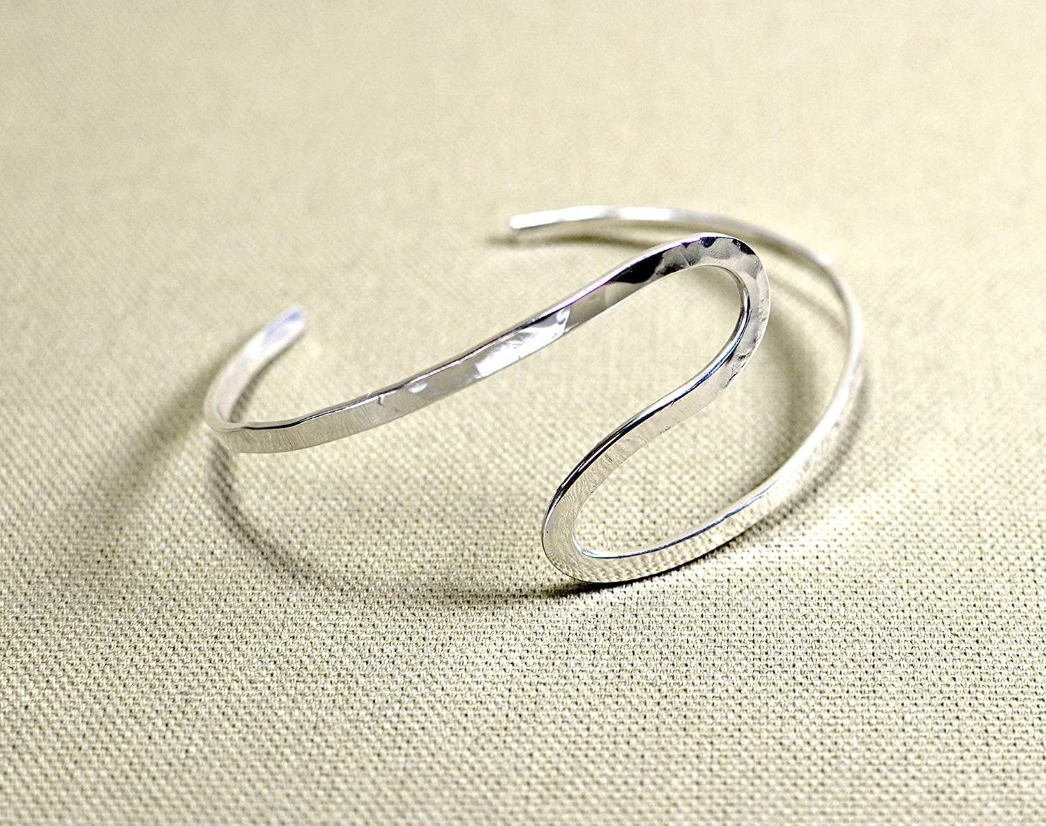 In a popularity Forged handmade artistic sterling cuff silver Regular store arm