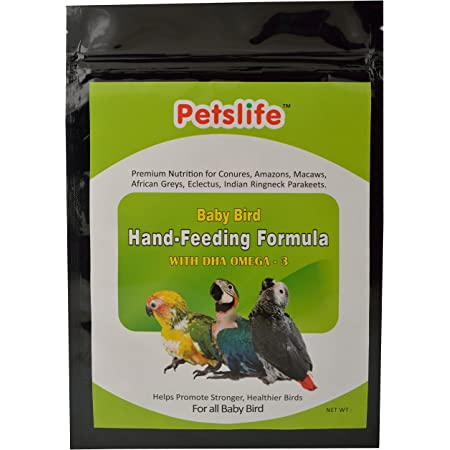 Petslife Hand Feeding Formula Baby Bird Food, 500 g