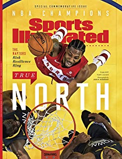 Sports Illustrated NBA Finals Champion Commemorative - Raptors Win (1 of 2 covers will be sent)