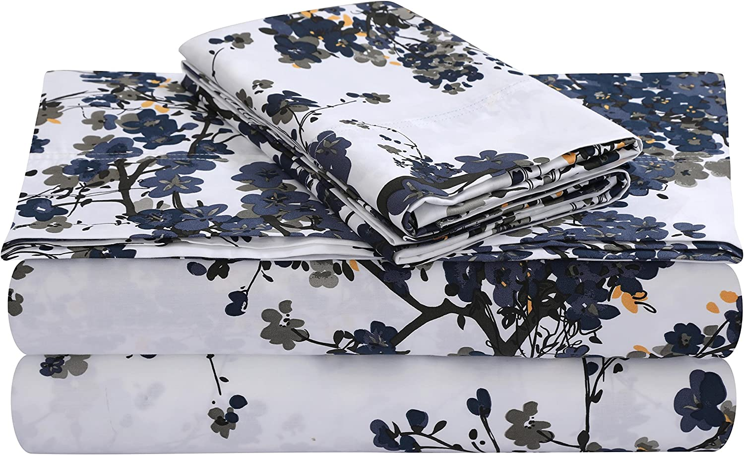 Tribeca Living MILAN4PSSTWX Extra Deep Pocket Twin Award-winning store Sheet Set Special price for a limited time XL