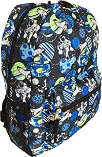FAB Starpoint Boys Galaxy Backpack with Headphones School Bag