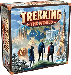 Trekking The World: A Globetrotting Family Board Game