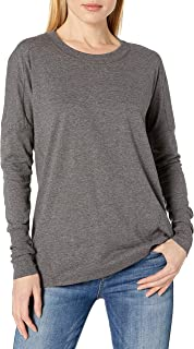 Fruit Of The Loom Women's Essentials All Day Long Sleeve Scoop Neck T-Shirt Shirt