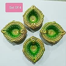Clay Diwali Diya Set of 4