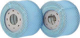 MSpa 2 x vervangende filtercartridges hot tubs accessoires 90 plooien passen modellen, wit, one size