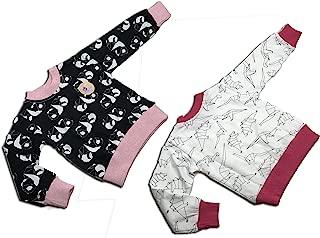 中性款幼儿 2 件套运动衫(3岁,猫抓绒)
