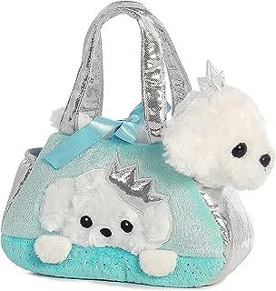 Aurora World Fancy Pals Pet Carrier, Peek-A-Boo Princess Puppy