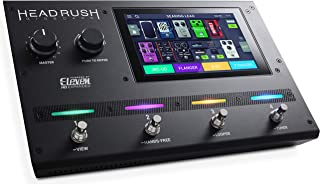 HeadRush Gigboard | Ultra-Portable Guitar FX and Amp Modelling Processor With Eleven HD Expanded DSP Software, 7-Inch Touchscreen, Built in Looper, IR Support and USB Audio Connectivity