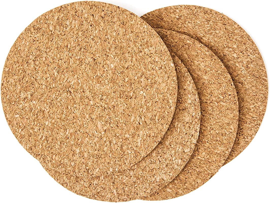 Cork Drink Coasters 1 8 Thick 30 Pack Home Bar And Kitchen Essential Blank Reusable Absorbent Eco Friendly DIY Project Tile Craft Board Restaurant Cafe Wedding Supplies And Accessories