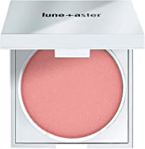 Lune+Aster SuperStar Blush - Universally flattering peachy-pink vegan blush creates a healthy flush of color
