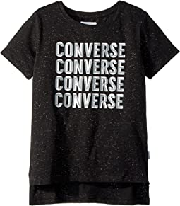 Converse Kids - Beveled Tee (Big Kids)