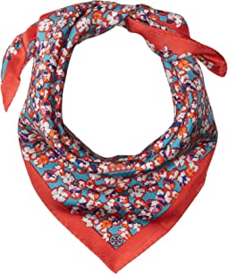 Tory Burch - Carnation Silk Neckerchief