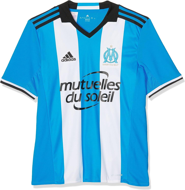 Adidas OM 3 JSY Y - 3 Mannschaftsbekleidung Mannschaftsbekleidung Mannschaftsbekleidung T-Shirt Olympique de Marsella 2015 16 - Junge B01G9D1UHS  Sorgfältig ausgewählte Materialien 51ed5e