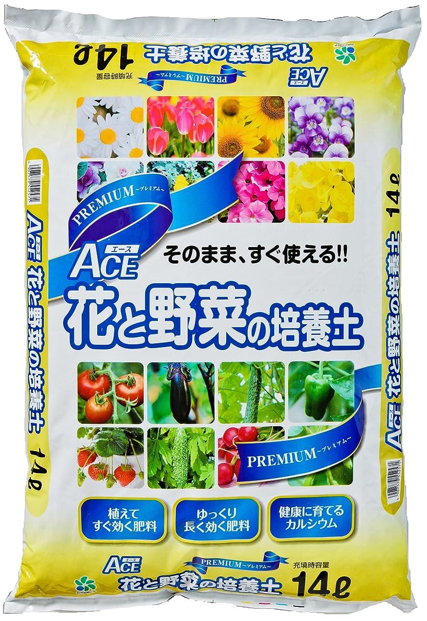 情熱的磁気アクセル【Amazon.co.jp限定】自然応用科学 プレミアムACE花と野菜の培養土 14L