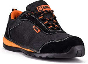 Black Hammer Mens Steel Toe Cap Safety Trainers Ultra