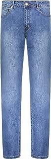 Barbell Men's Athletic Fit Jean - Straight Leg, 4-Pocket Denim