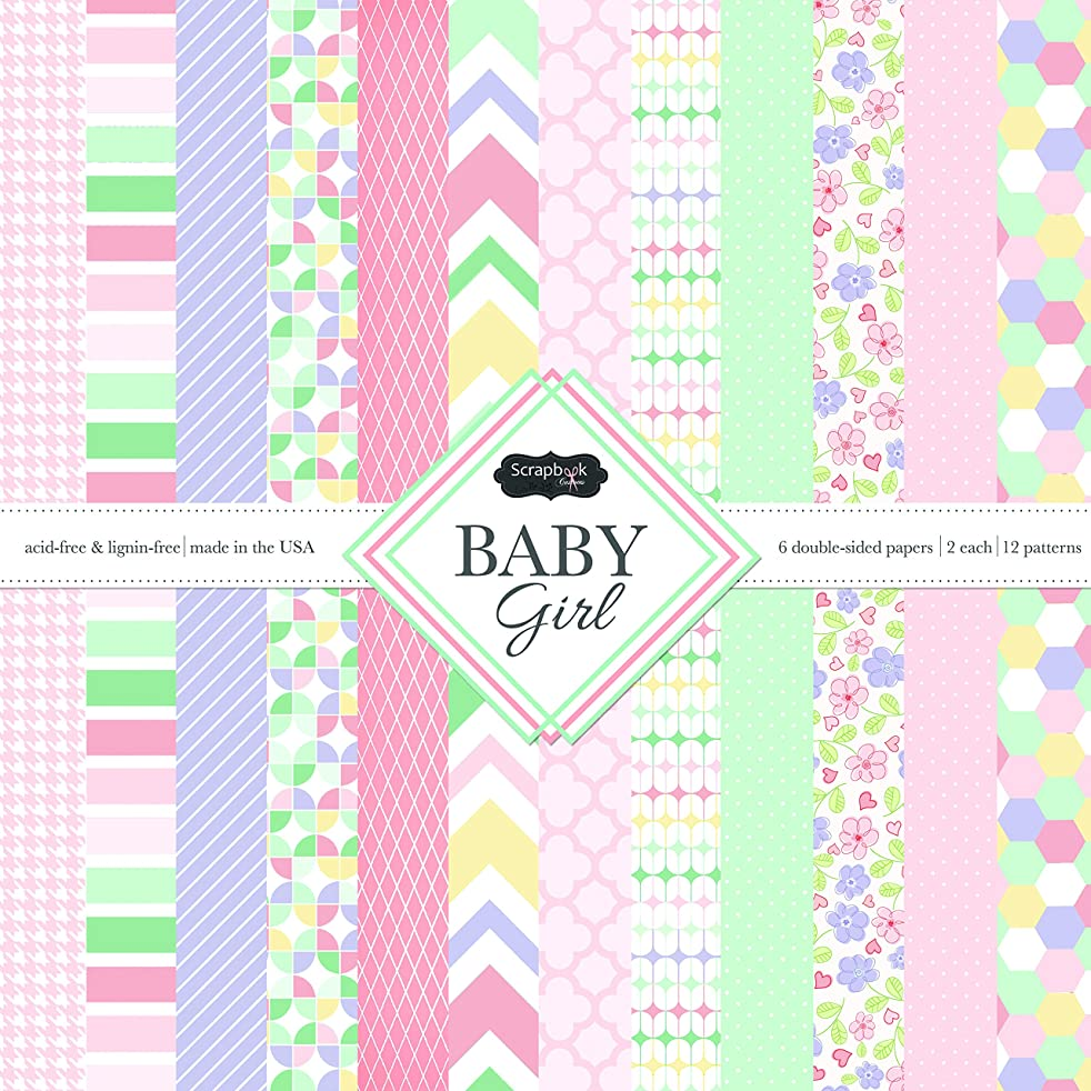 Scrapbook Customs Themed Paper Scrapbook Kit, Baby Girl