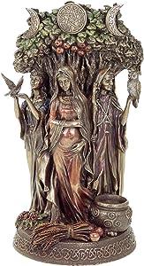 Celta Trinity Diosa Estatua Escultura Figura Wicca Trinidad Celta