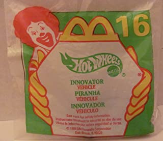 Mattel HOT WHEELS - McDONALD'S Happy Meal TOY CAR - INNOVATOR - Bag #16 - 1999 / China (Comes in Original UNOPENED Bag) / *For Children Age 3 and Over / May Contain Small Parts* by Hot Wheels