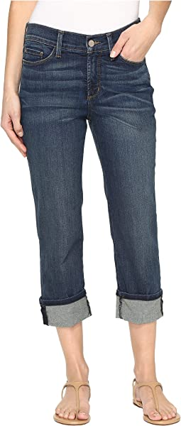 NYDJ - Dayla Wide Cuff Capris in Oak Hill