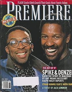 Premiere November 1992 - Spike Lee & Denzel Washington