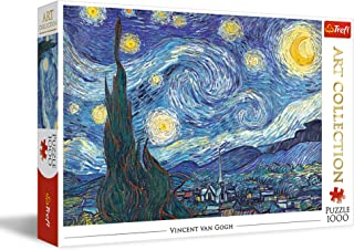 Trefl The Starry Night Shaped Puzzle - 1000 Pieces