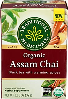 Traditional Medicinals, Organic Assam Chai Tea, 1.13 Ounce