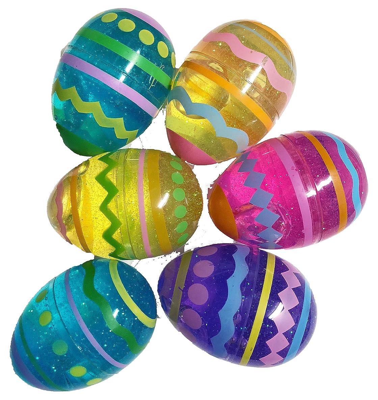 6 Amazing Glitter Goo Easter Eggs