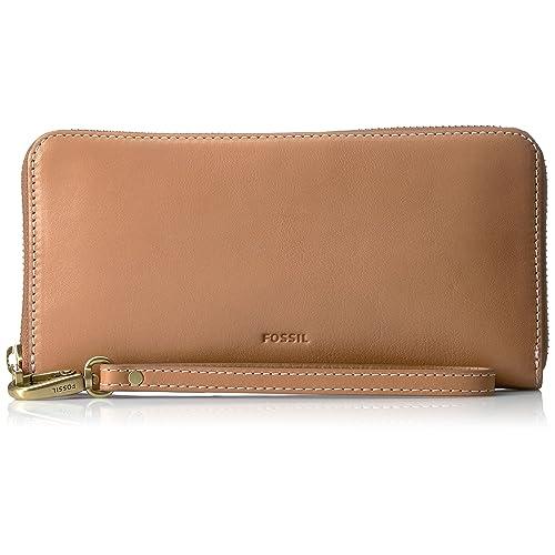 19b75d582137 Fossil Women s Emma RFID Zip Wallet