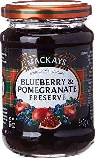 Mackays Blueberry & Pomegranate Preserve, 12 Oz