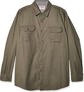 Wrangler Mens Long Sleeve Classic Woven Shirt