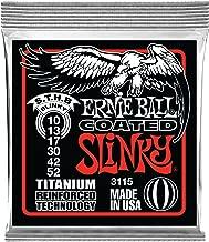 Ernie Ball Coated Electric Titanium RPS Skinny Top Heavy Bottom Set, .010 - .052