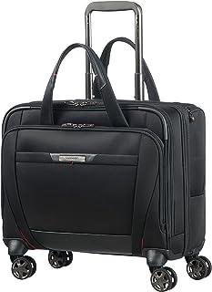 Samsonite Pro-DLX 5 - 15.6 Pouces Sacoche pour Ordinateur Portable avec 4 Roulettes, 44 cm, 22 L, Noir (Black)