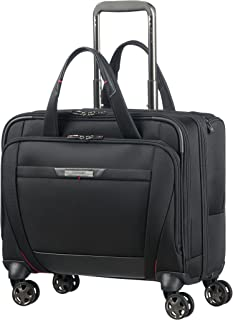 PRO-DLX 5 - Spinner Tote for 15.6'' Laptop 3.3 KG Travel Tote, 44 cm, 22 liters, Black