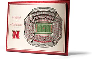YouTheFan NCAA 5-Layer StadiumView Wall Art